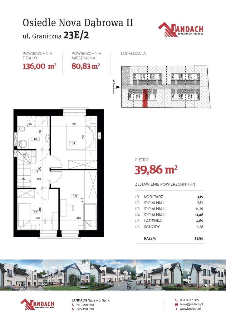 Dom na sprzedaż Rokietnica  80m2 Foto 13