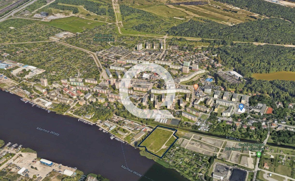 Działka inwestycyjna na sprzedaż Gdańsk  16060m2 Foto 2
