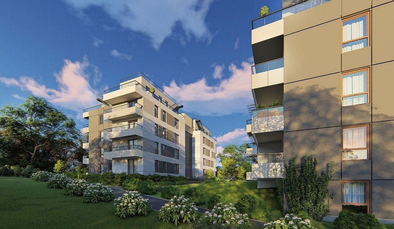 Mieszkanie trzypokojowe na sprzedaż Gdańsk, Morena, Myśliwska  76m2 Foto 1