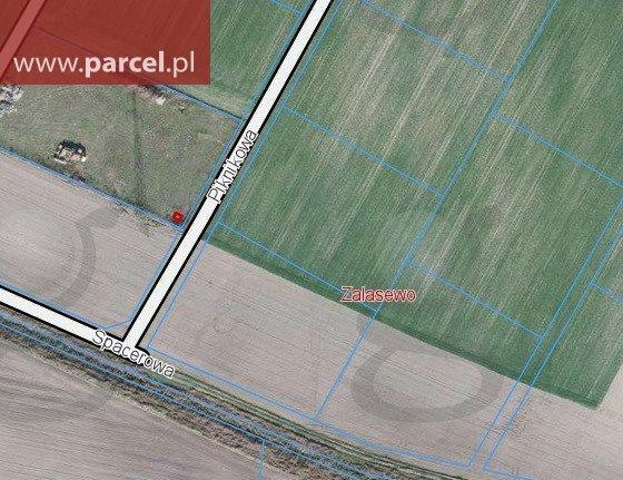 Działka budowlana na sprzedaż Zalasewo, Piknikowa  6060m2 Foto 1
