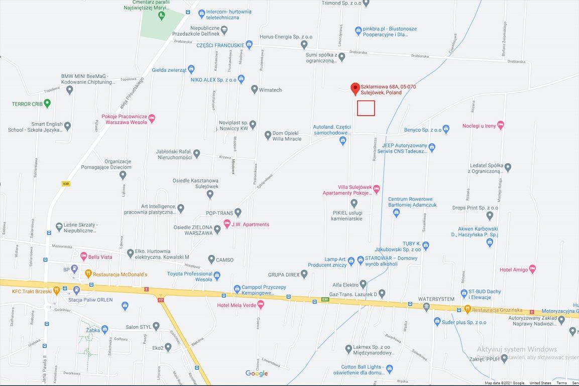 Działka budowlana na sprzedaż Sulejowek, Szklarniowa 68A  9159m2 Foto 2