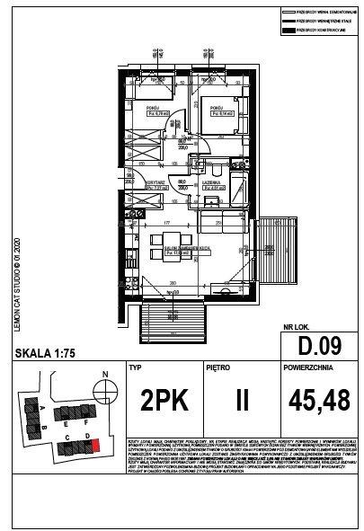 Mieszkanie trzypokojowe na sprzedaż Poznań, Smochowice  45m2 Foto 8