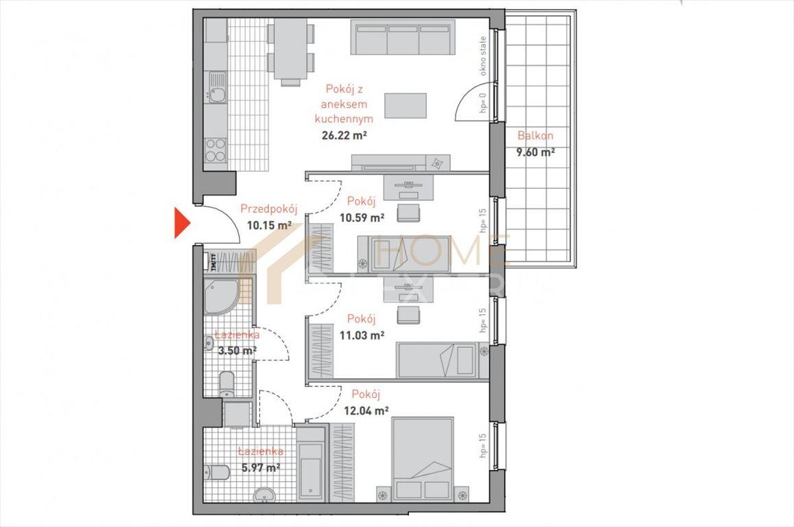 Mieszkanie czteropokojowe  na sprzedaż Gdańsk, Morena, Bulońska  80m2 Foto 3