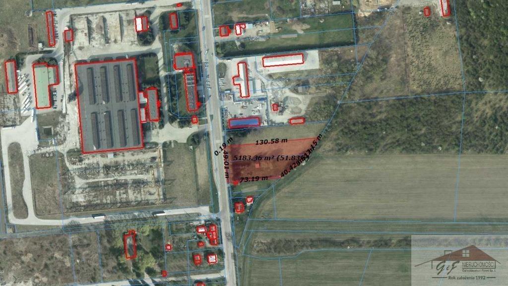 Działka przemysłowo-handlowa na sprzedaż Przemyśl, Ofiar Katynia  5176m2 Foto 7