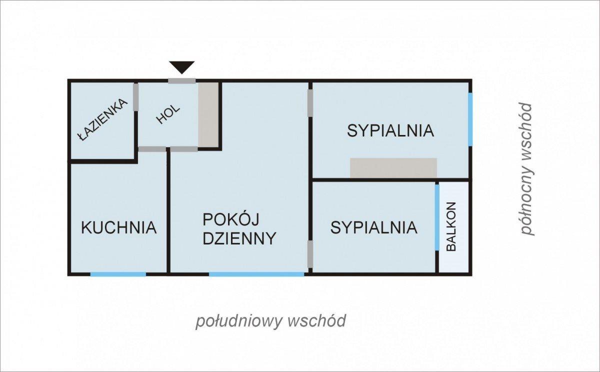 Mieszkanie trzypokojowe na sprzedaż Chrzanów, Fabryczna  61m2 Foto 6