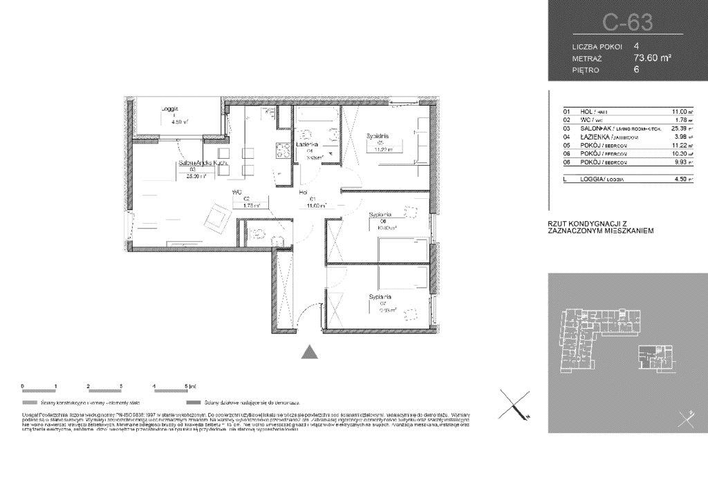 Mieszkanie czteropokojowe  na sprzedaż Warszawa, Białołęka, Tarchomin, Józefa Mehoffera  74m2 Foto 2