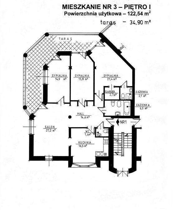Mieszkanie czteropokojowe  na sprzedaż Warszawa, Wawer, Kajki  123m2 Foto 1