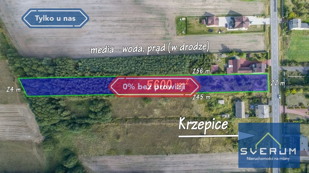Działka budowlana na sprzedaż Kleśniska, Jaworska  1m2 Foto 1