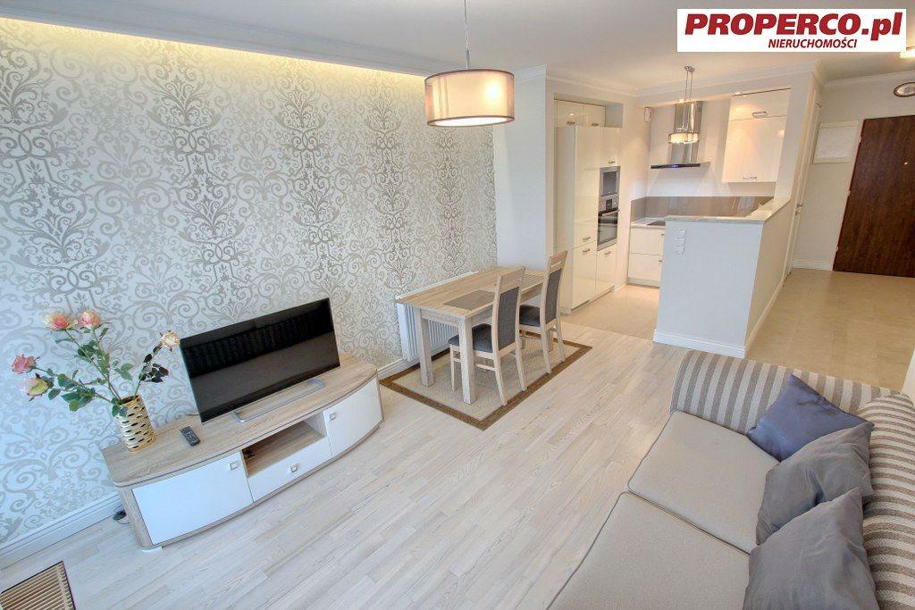 Mieszkanie dwupokojowe na wynajem Kielce, Centrum, Staszica  44m2 Foto 1