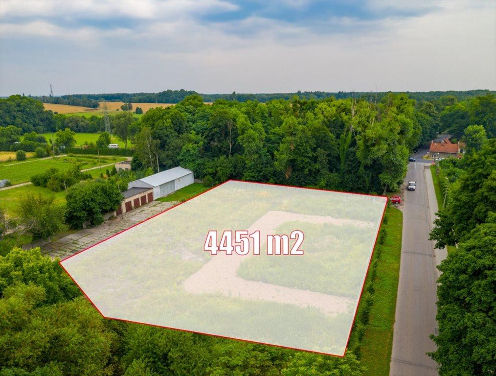 Działka przemysłowo-handlowa na sprzedaż Nakło Śląskie, Powstańców  4451m2 Foto 6