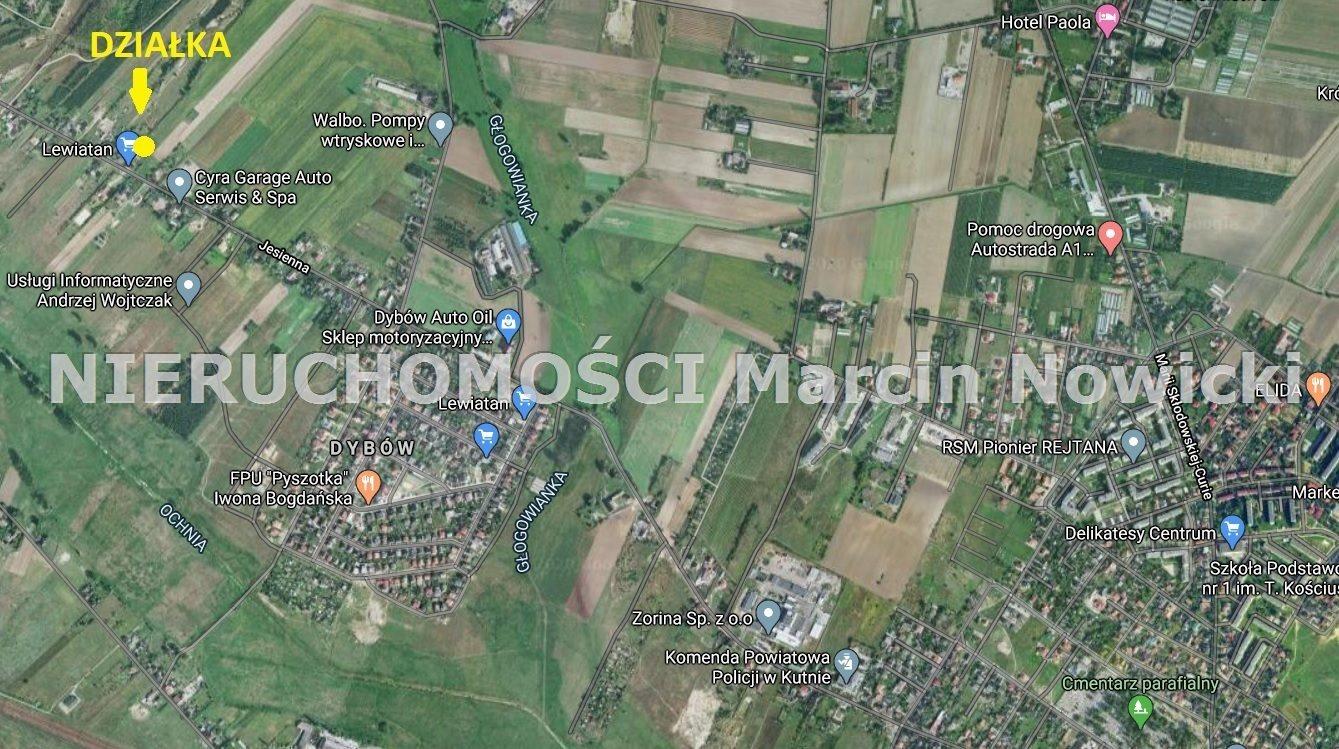 Działka budowlana na sprzedaż Kutno, Jesienna  1739m2 Foto 2