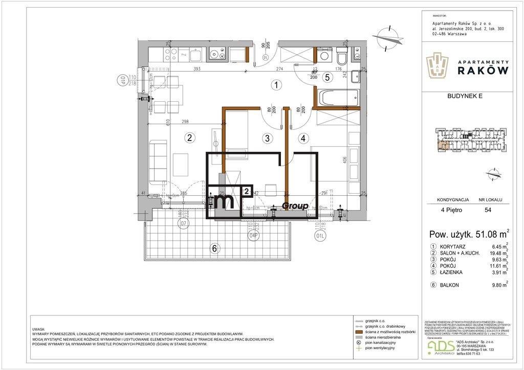 Mieszkanie trzypokojowe na sprzedaż Warszawa, Włochy, Borsucza  51m2 Foto 1