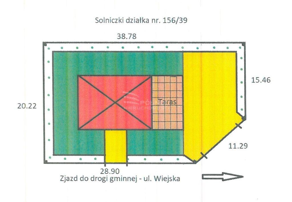Działka budowlana na sprzedaż Solniczki  762m2 Foto 10