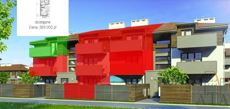 Mieszkanie trzypokojowe na sprzedaż Kiełczów  59m2 Foto 1