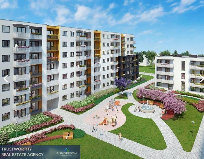 Mieszkanie trzypokojowe na sprzedaż Kraków, Podgórze, Malborska  65m2 Foto 3