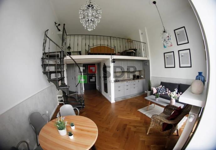Mieszkanie dwupokojowe na wynajem Wrocław, Stare Miasto, Jana Pawła II  40m2 Foto 1