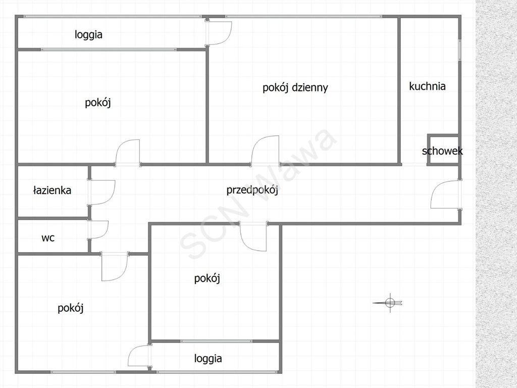 Mieszkanie czteropokojowe  na sprzedaż Warszawa, Praga-Północ, Środkowa  74m2 Foto 11