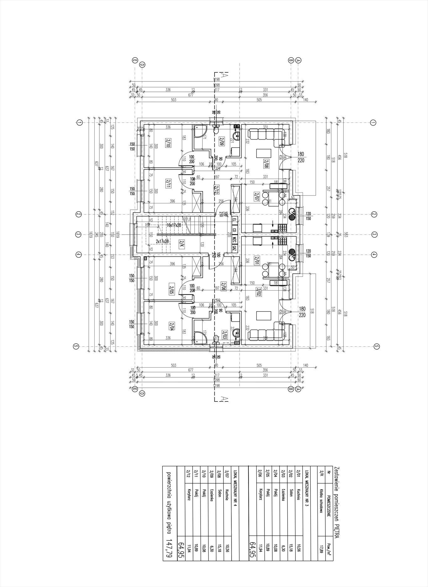 Mieszkanie trzypokojowe na sprzedaż Sobótka, zielona 8  65m2 Foto 2