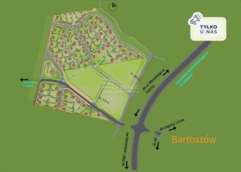 Działka budowlana na sprzedaż Legnica  1125m2 Foto 1
