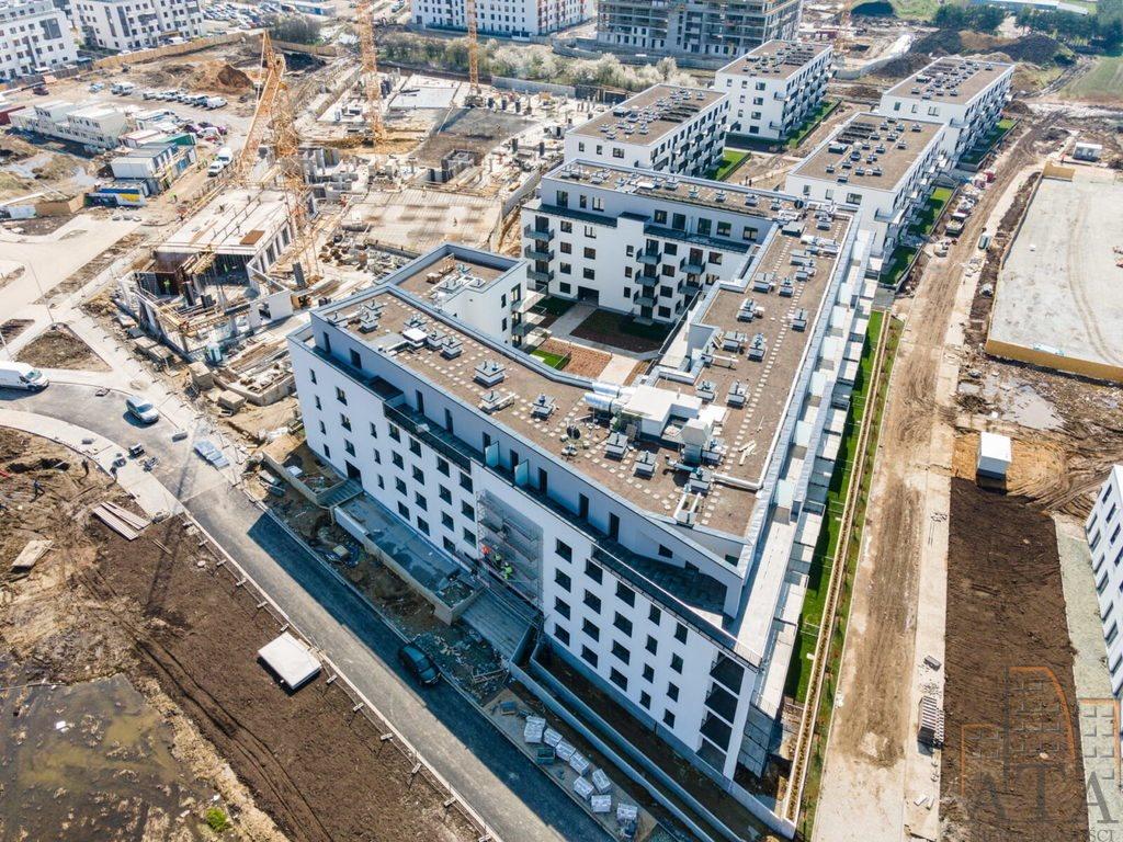 Mieszkanie dwupokojowe na sprzedaż Wrocław, Jagodno, Jagodno, Klasztorna  40m2 Foto 1
