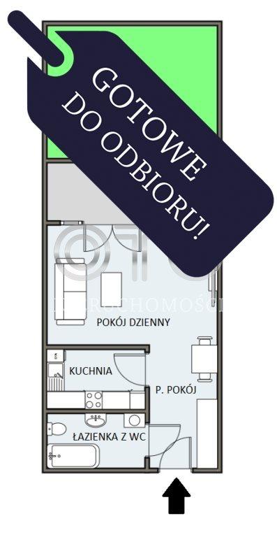 Kawalerka na sprzedaż Wrocław, Krzyki, Jagodno, Klasztorna  28m2 Foto 2