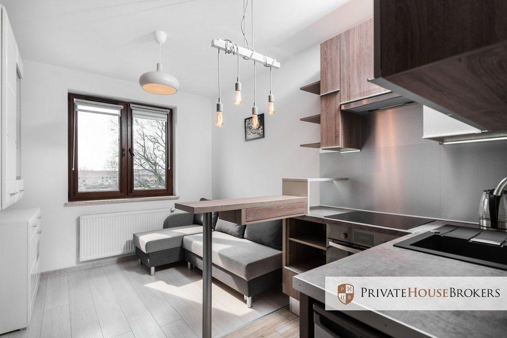 Mieszkanie dwupokojowe na wynajem Kraków, Podgórze, Na Zakolu Wisły  30m2 Foto 1