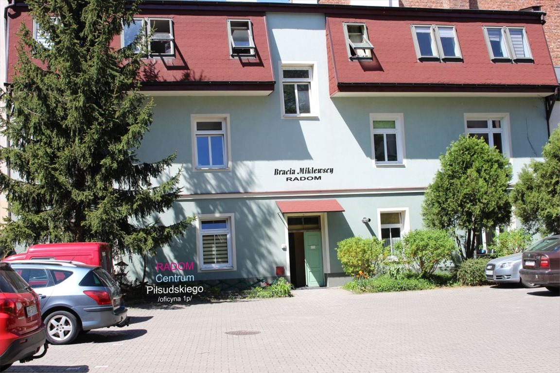 Kawalerka na wynajem Radom, Centrum, Piłsudskiego  45m2 Foto 1