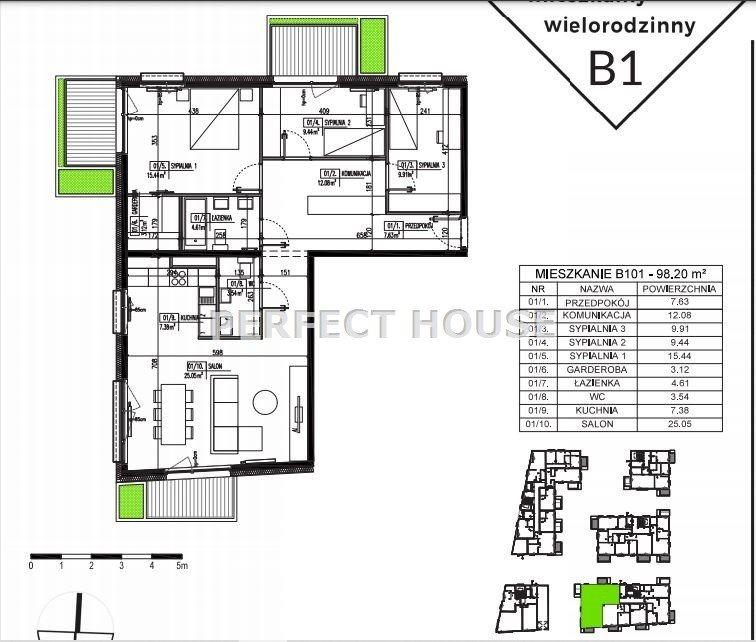 Mieszkanie czteropokojowe  na sprzedaż Poznań, Winiary  98m2 Foto 9