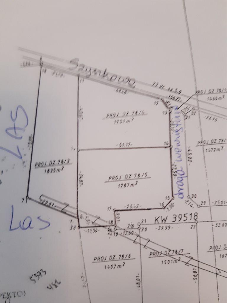 Działka budowlana na sprzedaż Opypy  5375m2 Foto 1