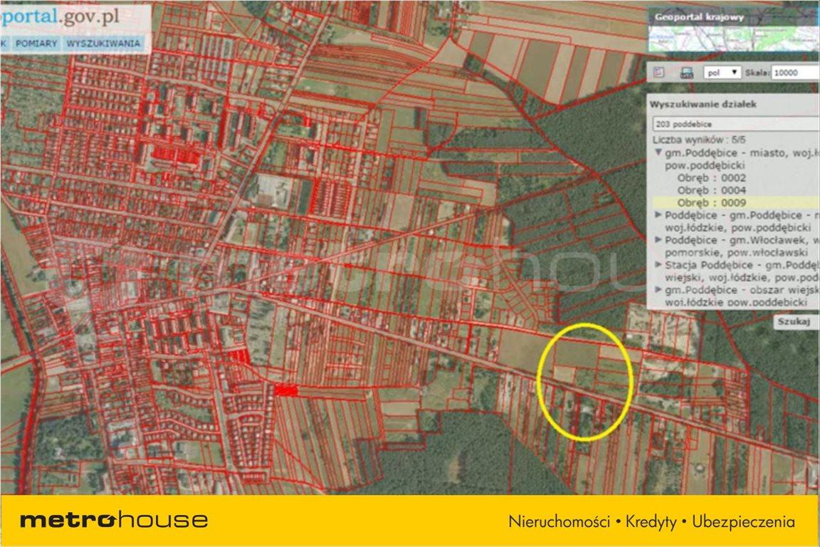 Działka budowlana na sprzedaż Poddębice, Poddębice  5091m2 Foto 4