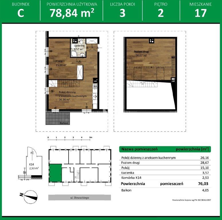 Mieszkanie czteropokojowe  na sprzedaż Niemcz, Olszynki  80m2 Foto 10