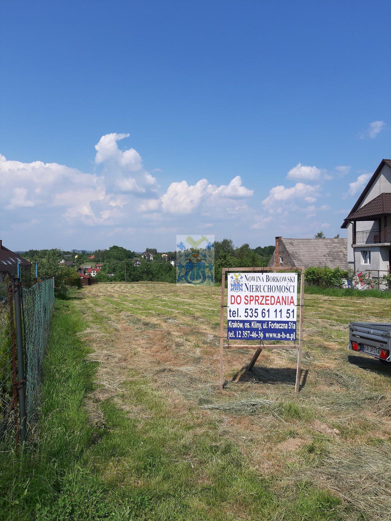 Działka budowlana na sprzedaż Krzywaczka  2100m2 Foto 1