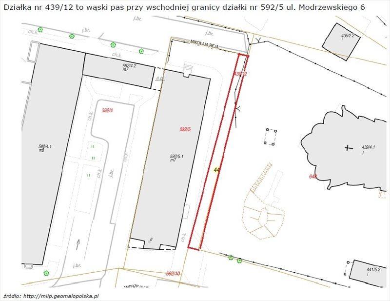 Działka inna na sprzedaż Kraków, Kraków-Krowodrza  5m2 Foto 3