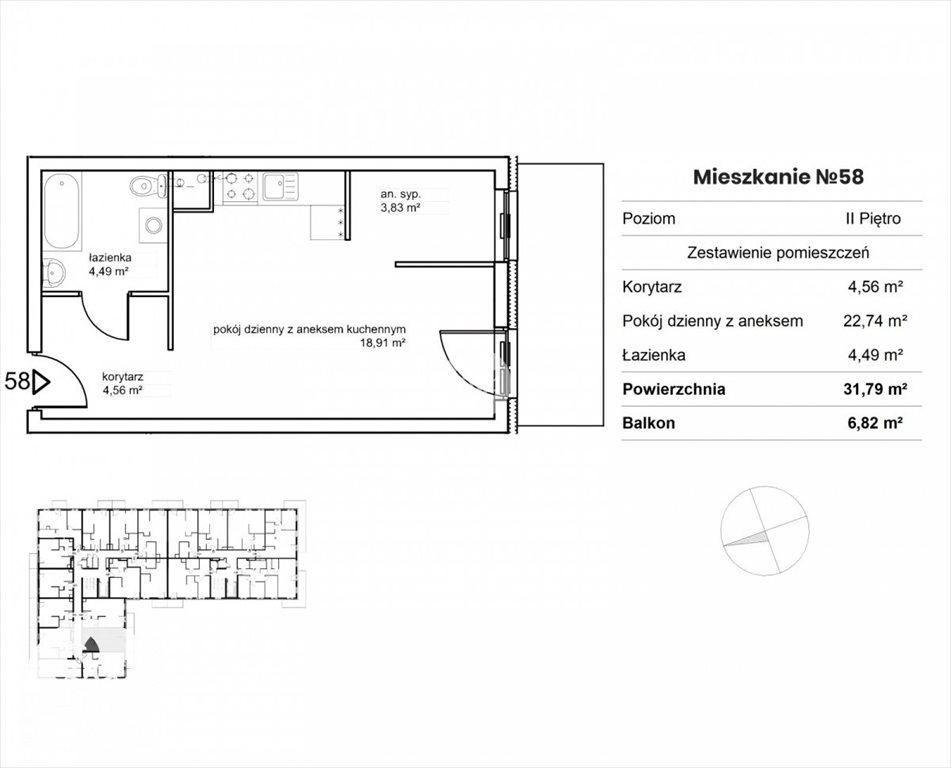 Mieszkanie dwupokojowe na sprzedaż Bydgoszcz, Śródmieście, Garbary  32m2 Foto 2