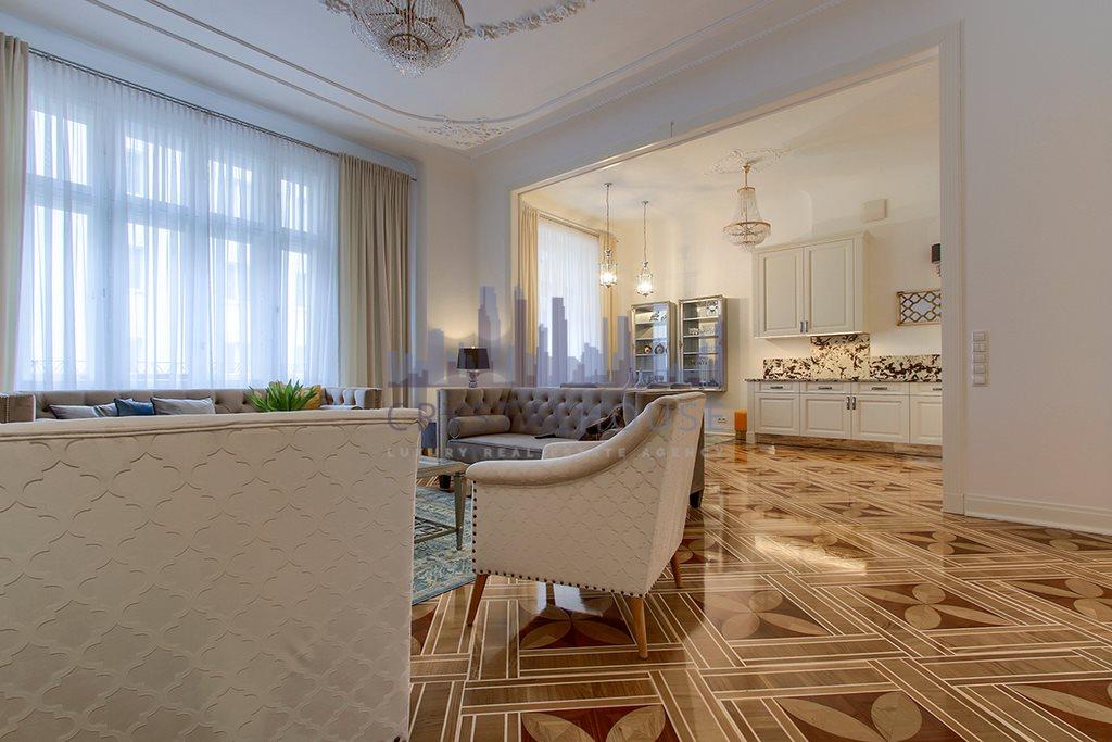 Mieszkanie czteropokojowe  na wynajem Warszawa, Śródmieście, Nowogrodzka  170m2 Foto 3