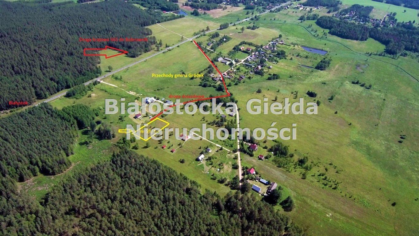 Działka budowlana na sprzedaż GRÓDEK, PRZECHODY  3082m2 Foto 3