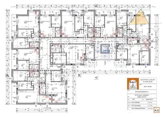 Mieszkanie trzypokojowe na sprzedaż Leszno, Myśliwska  52m2 Foto 12