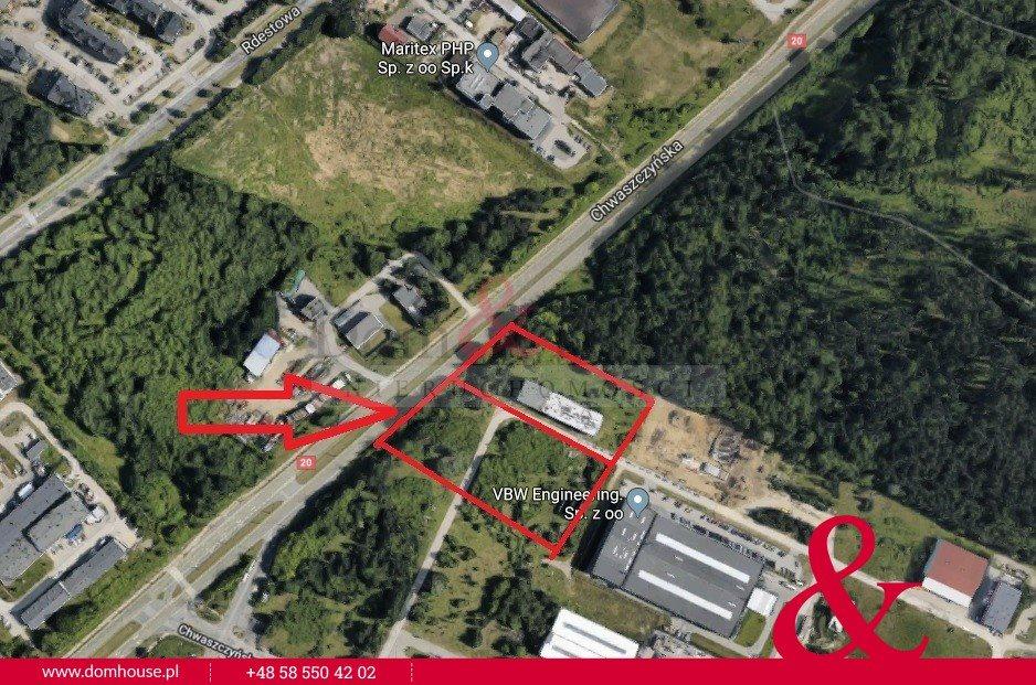 Działka przemysłowo-handlowa na sprzedaż Gdynia, Wielki Kack, Chwaszczyńska  17000m2 Foto 1