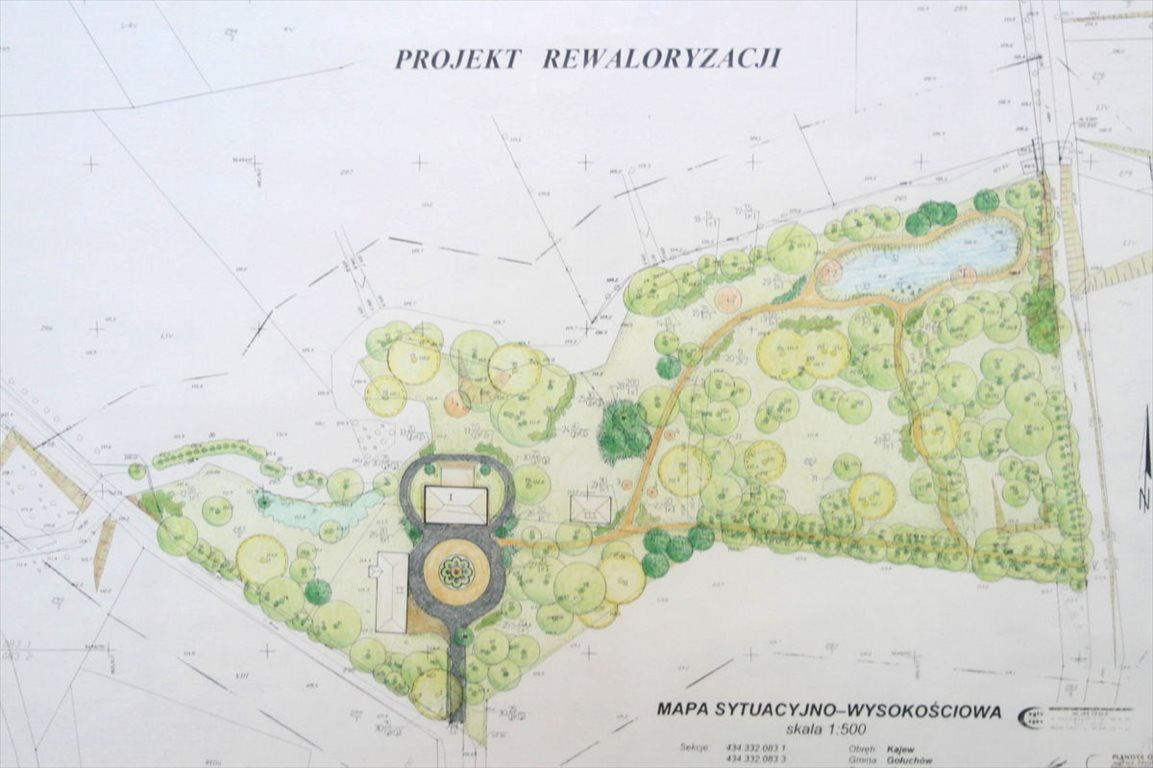 Działka budowlana na sprzedaż Kajew, Kajew  22985m2 Foto 1