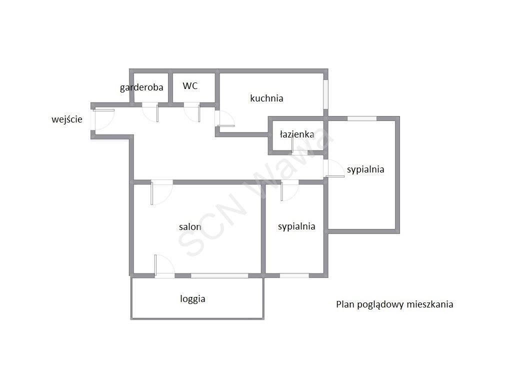 Mieszkanie trzypokojowe na sprzedaż Warszawa, Praga-Południe, Kobielska  72m2 Foto 10