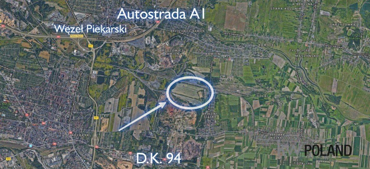 Działka przemysłowo-handlowa na sprzedaż Piekary Śląskie, Biskupa Herberta Bednorza  30775m2 Foto 3