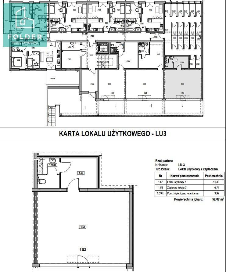 Lokal użytkowy na sprzedaż Rzeszów, Staromieście, Lubelska 63  52m2 Foto 13