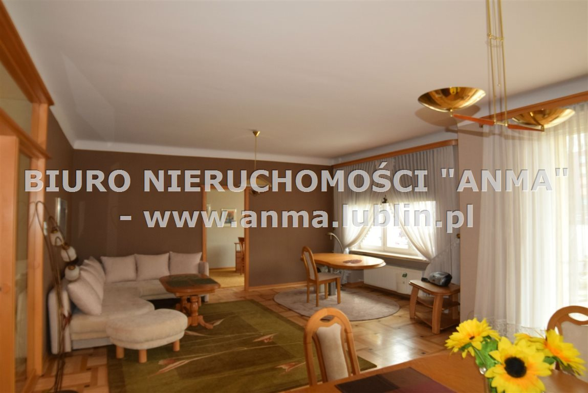 Mieszkanie trzypokojowe na wynajem Lublin, Śródmieście, Centrum  91m2 Foto 1