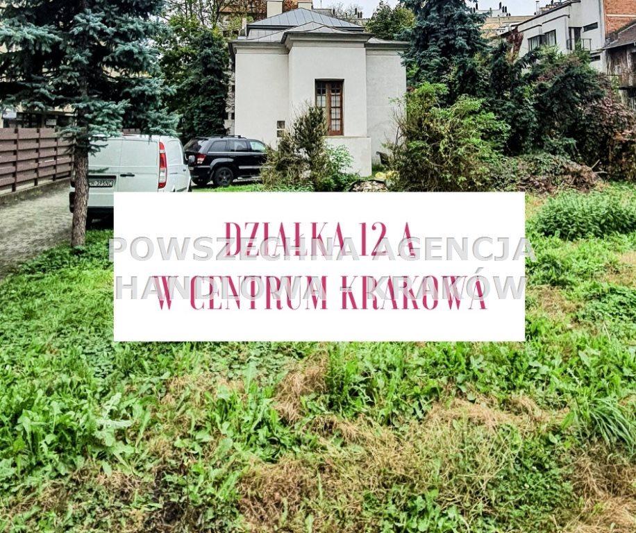 Działka budowlana na sprzedaż Kraków, Śródmieście  1200m2 Foto 1
