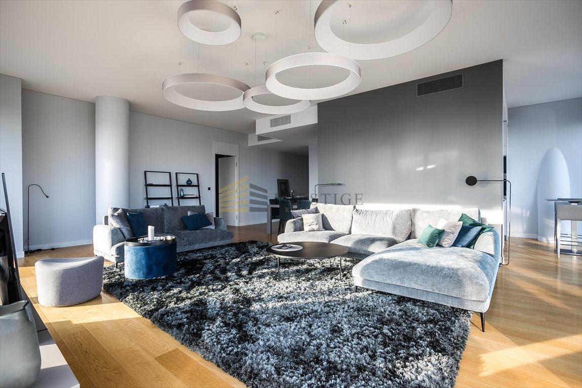 Luksusowe mieszkanie czteropokojowe  na wynajem Warszawa, Śródmieście, Twarda  160m2 Foto 5