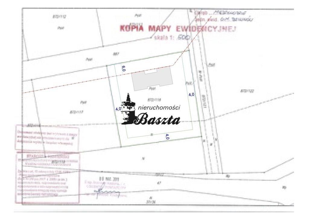 Działka budowlana na sprzedaż Międzywodzie  1829m2 Foto 13