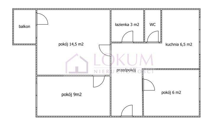 Mieszkanie trzypokojowe na sprzedaż Lublin, Bronowice, Bukowa  48m2 Foto 11