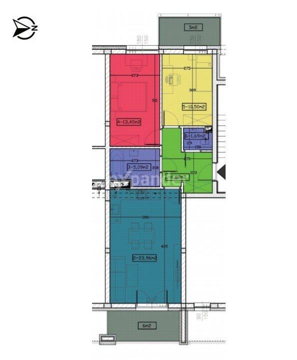 Mieszkanie trzypokojowe na sprzedaż Rzeszów, Kornela Makuszyńskiego  62m2 Foto 4