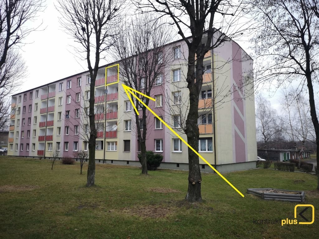 Mieszkanie dwupokojowe na sprzedaż Ruda Śląska, Nowy Bytom, Szymały  45m2 Foto 1