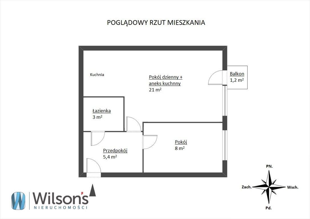 Mieszkanie dwupokojowe na sprzedaż Warszawa, Targówek Bródno, Ludwika Kondratowicza  38m2 Foto 6